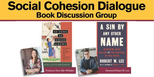 Social Cohesion Dialogue Book Discussion Group - Oct. 31