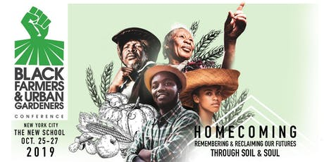2019 Black Farmers and Urban Gardeners Conference tickets