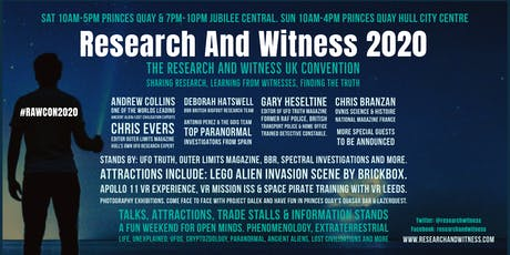 Research And Witness 2020 tickets