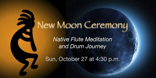 New Moon Ceremony ~ Native Flute Meditation and Drum Journey