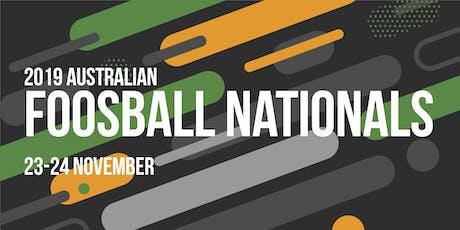 2019 Australian Foosball Nationals tickets