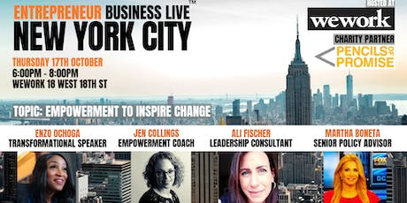 Entrepreneur Business Live NYC - 17th October 2019 tickets