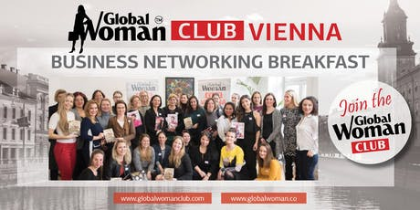 GLOBAL WOMAN CLUB VIENNA BUSINESS BREAKFAST - OCTOBER tickets