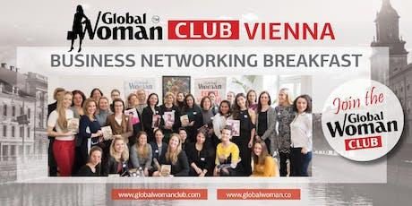 GLOBAL WOMAN CLUB VIENNA BUSINESS BREAKFAST - OCTOBER Tickets