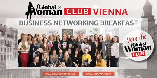 GLOBAL WOMAN CLUB VIENNA BUSINESS BREAKFAST - OCTOBER