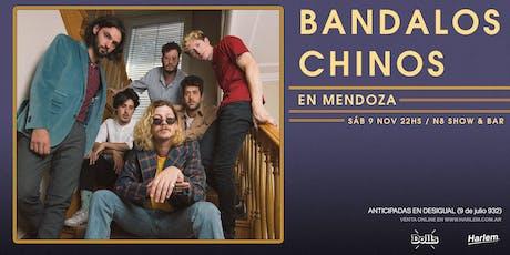 Bandalos Chinos en Mendoza entradas