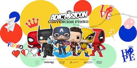 Adictos!Con19 - 3RA edición convención FUNKO POP! entradas