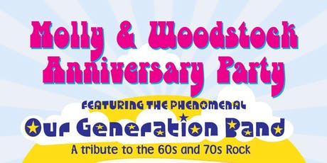 Molly & Woodstock Anniversary Party tickets