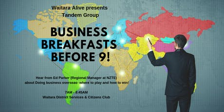Business Breakfast before 9! tickets