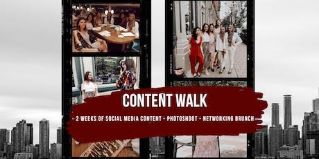 Content Walk & Photoshoot tickets
