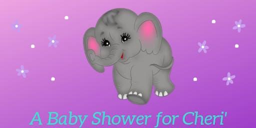 Baby Shower Honoring Cheri'