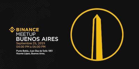Binance Buenos Aires Meetup entradas