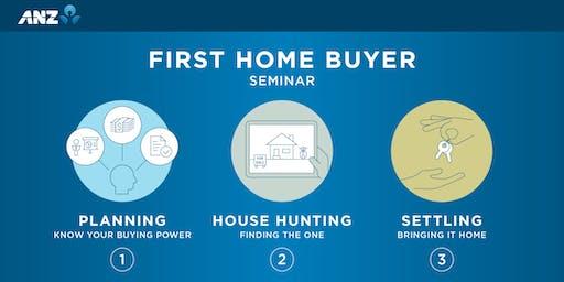 ANZ First Home Buyer's Seminar, Thames