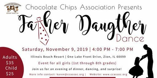 Annual Father & Daughter Dinner Dance hosted by Chocolate Chips Association