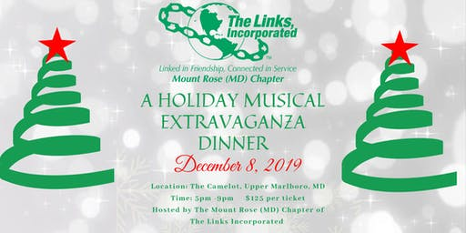 Holiday Extravaganza - Mount Rose Chapter of the Links Incorporated