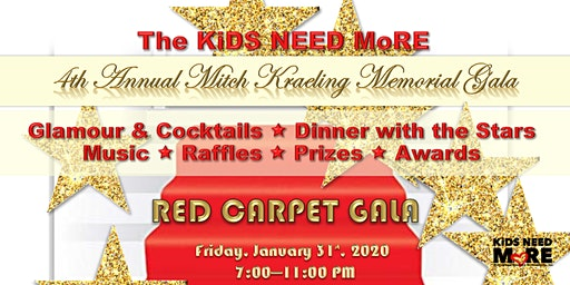 The RED CARPET Gala in Memory of Mitch Kraeling
