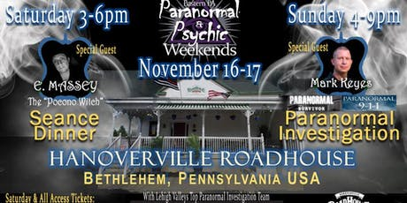Hanoverville Roadhouse Celebrity Ghost Hunt tickets