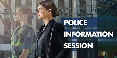 Police Information Session - Craigieburn tickets