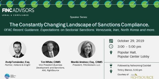 The Constantly Changing Landscape of Sanctions Compliance