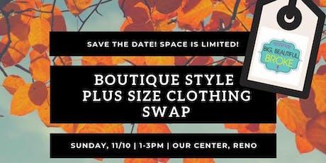 Plus Size Boutique Swap tickets