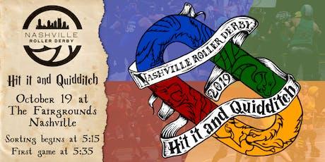 Nashville Roller Derby 2019 Hit it & Quidditch Roller Derby Tournament tickets