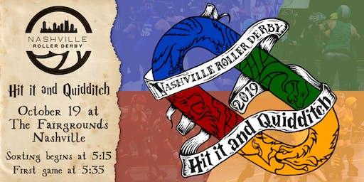 Nashville Roller Derby 2019 Hit it & Quidditch Roller Derby Tournament