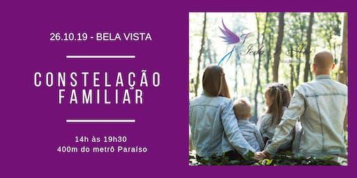 WORKSHOP DE CONSTELAÇÃO FAMILIAR - IEDA I. HAI (CASA TAMARINDO)