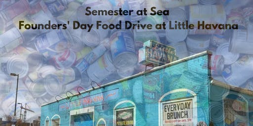 Founders' Day Food Drive & Happy Hour