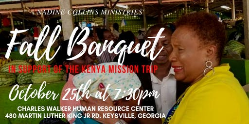 Fall Banquet: In Support of the Kenya Mission Trip