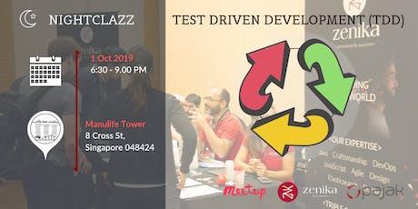 TDD - The Evolutionary Approach to Software Development | NightClazz tickets
