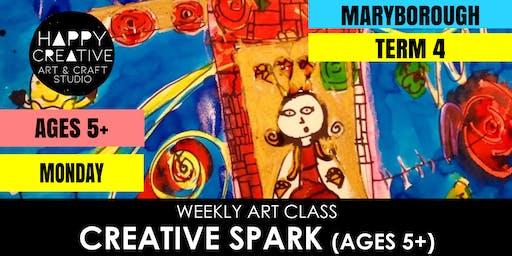 Creative Spark (Ages 5+) - MONDAY CLASS