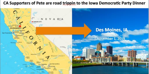Join CA supporters of Pete at the 11/1 Iowa Democratic Party Dinner