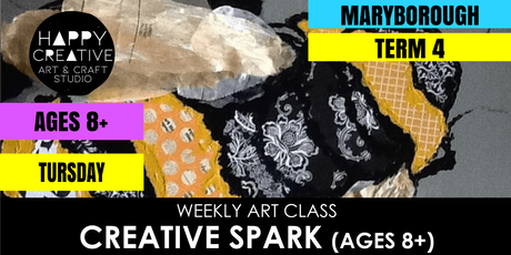 Creative Spark (Ages 8+) - TUESDAY CLASS tickets