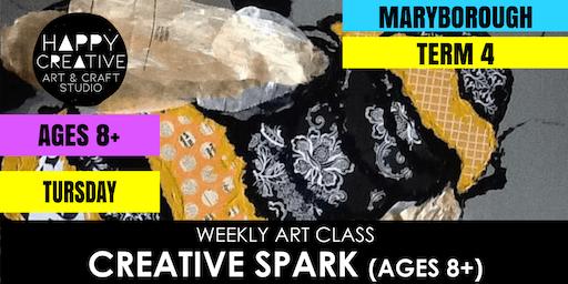 Creative Spark (Ages 8+) - TUESDAY CLASS