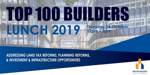TOP 100 BUILDERS LUNCH