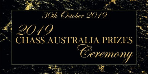 2019 CHASS Australia Prizes Ceremony