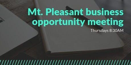 Mt. Pleasant Business Development Meeting tickets