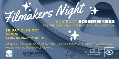 Filmakers Night - hosted by Screenworks