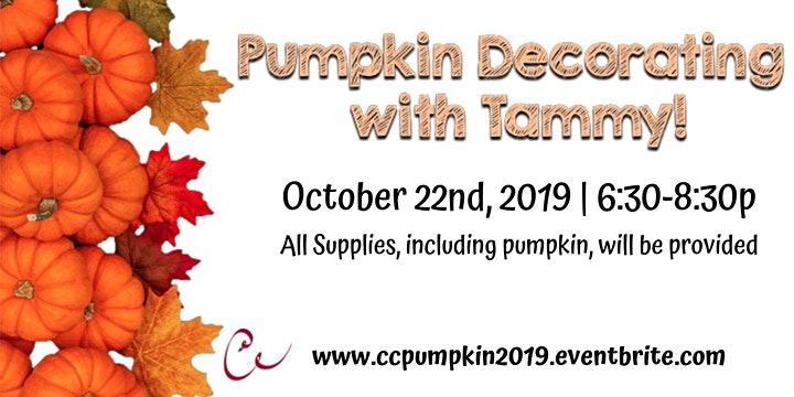 Pumpkin Decorating with Tammy image