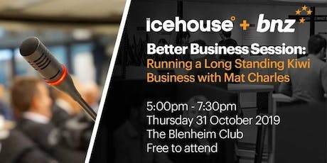 Running a Long Standing Kiwi Business with Mat Charles tickets