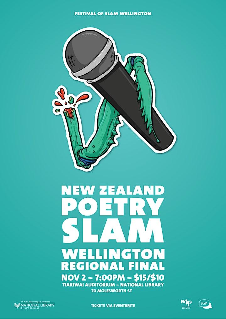 Wellington Poetry Slam Final 2019 - Festival of Slam image