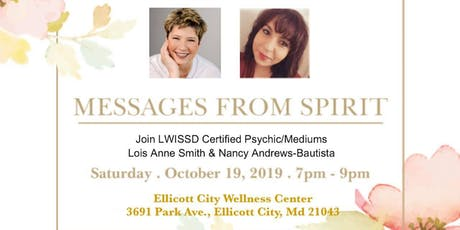 Messages from Spirit with Lois Anne Smith & Nancy Andrews tickets