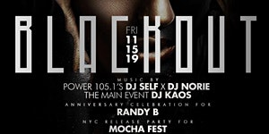 Mocha Fest Blackout - The Biggest All Black Affair &...