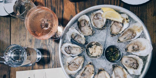 Shuck before the Cup FEAT James and Co Sparkling Rosé