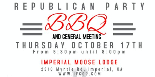 Republican Central Committee Fall BBQ