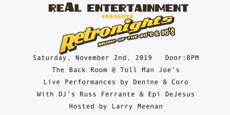 Retronights: Music of the 80's & 90's tickets