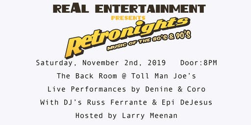 Retronights: Music of the 80's & 90's