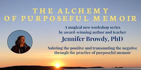 The Alchemy of Purposeful Memoir: Seeking purpose tickets
