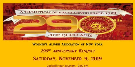 Wolmer's 290th Banquet tickets