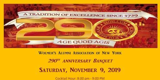 Wolmer's 290th Banquet